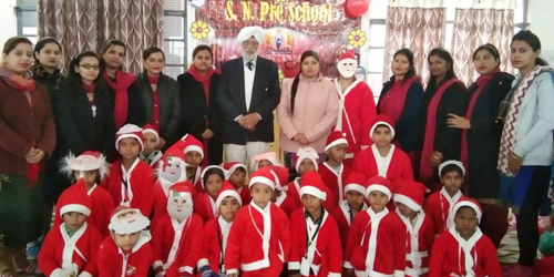 Christmas Celebration in S.N. Public School, Preet Nagar