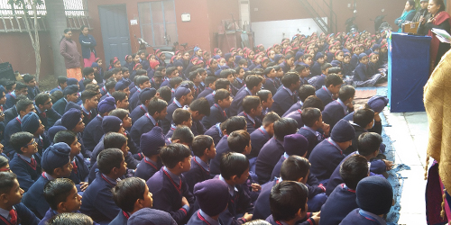 New Year Eve Morning Assembly